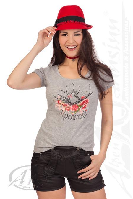 1517b6fa0bb0 Produktabbildung Hangowear Trachten Damen Jeanshose kurz - SHORT - schwarz