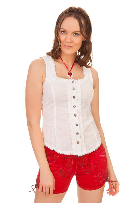 6835acddd59ea5 Produktabbildung Hangowear Trachten Damen Jeansshorts - OVIDA - schwarz