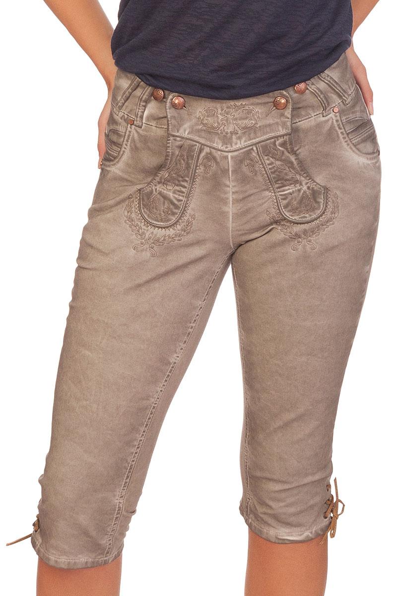 beige jeans damen
