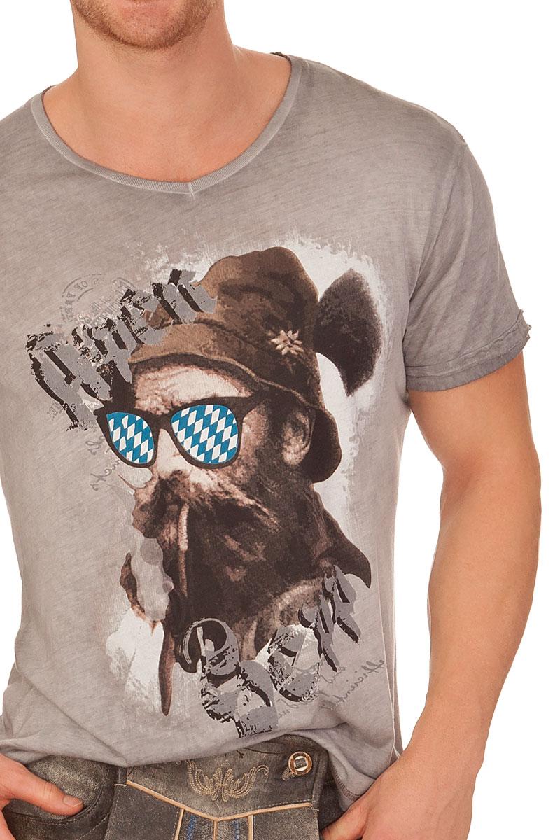 c7260e4f3dcd2d weitere Produktabbildung Hangowear Trachten Herren Shirt - BEPPI BAVARIA -  grau