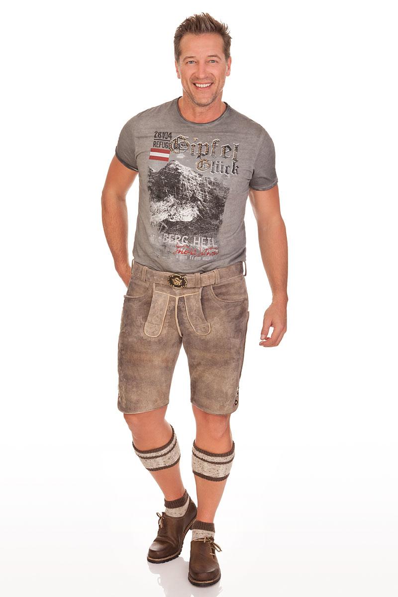 f1676c920412cc weitere Produktabbildung Hangowear Trachten Herren Shirt - UWE AUSTRIA -  anthrazit