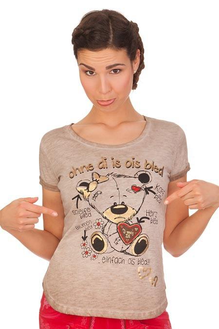 361837a3ca3f77 Produktabbildung Hangowear Trachten Shirt - ASHLAND - beige. für Zoom  doppelt antippen