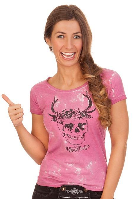 67dd020ed084a3 Produktabbildung Hangowear Trachten Shirt - MACY - pink. für Zoom doppelt  antippen
