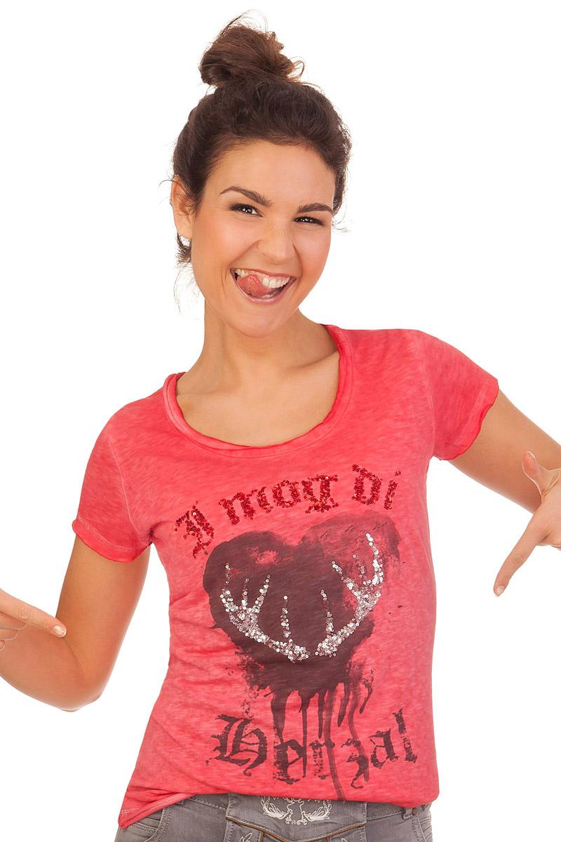 Hangowear Trachtenshirt Damen THORDIS rot