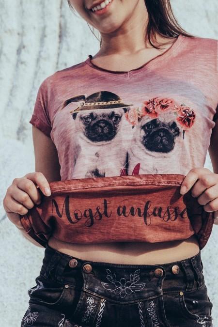 d0db06acf05dda Produktabbildung Hangowear Trachtenshirt Damen - ROSI - altrosa