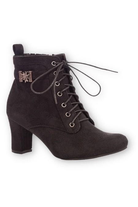 6bae469f9a9bee Produktabbildung Hirschkogel Trachten Damen Stiefelette - FANNY - schwarz