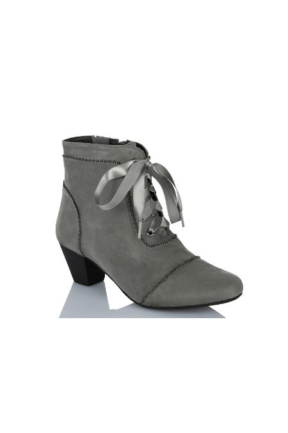 online retailer 38c59 63927 Trachten Stiefeletten Damen - FRANKA - grau, schwarz