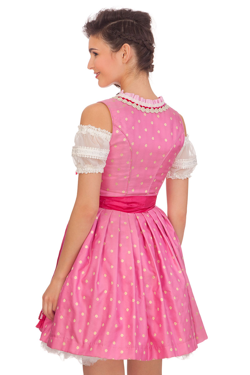6a61e3528d54f8 pink SINA Trachten Minidirndl 2tlg