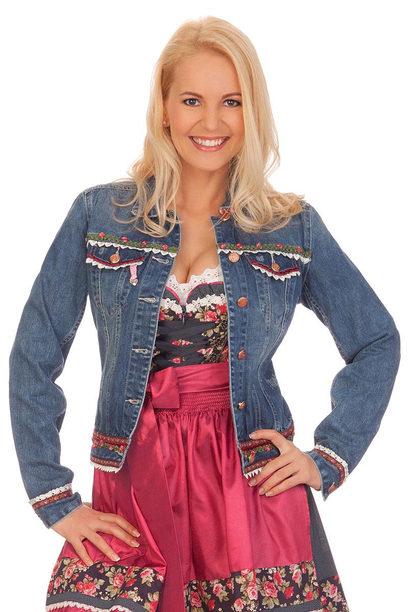 finest selection 46505 e9dd5 Trachtenjacke Damen - DAFNE - jeansblau