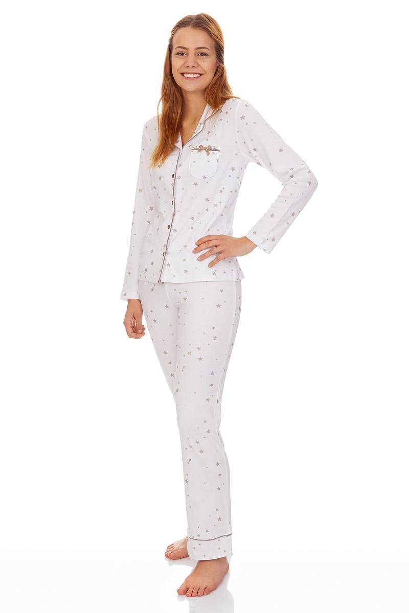 quality design 90c2a 1b734 Pyjama Damen - EINFACH HIMMLISCH - weiß