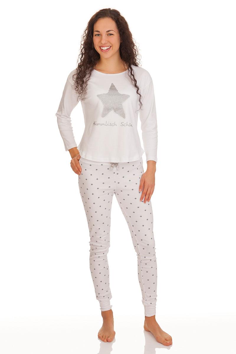 Louis /& Louisa Pyjama Einfach Himmlisch Schlafanzug langarm Bündchen S M L XL