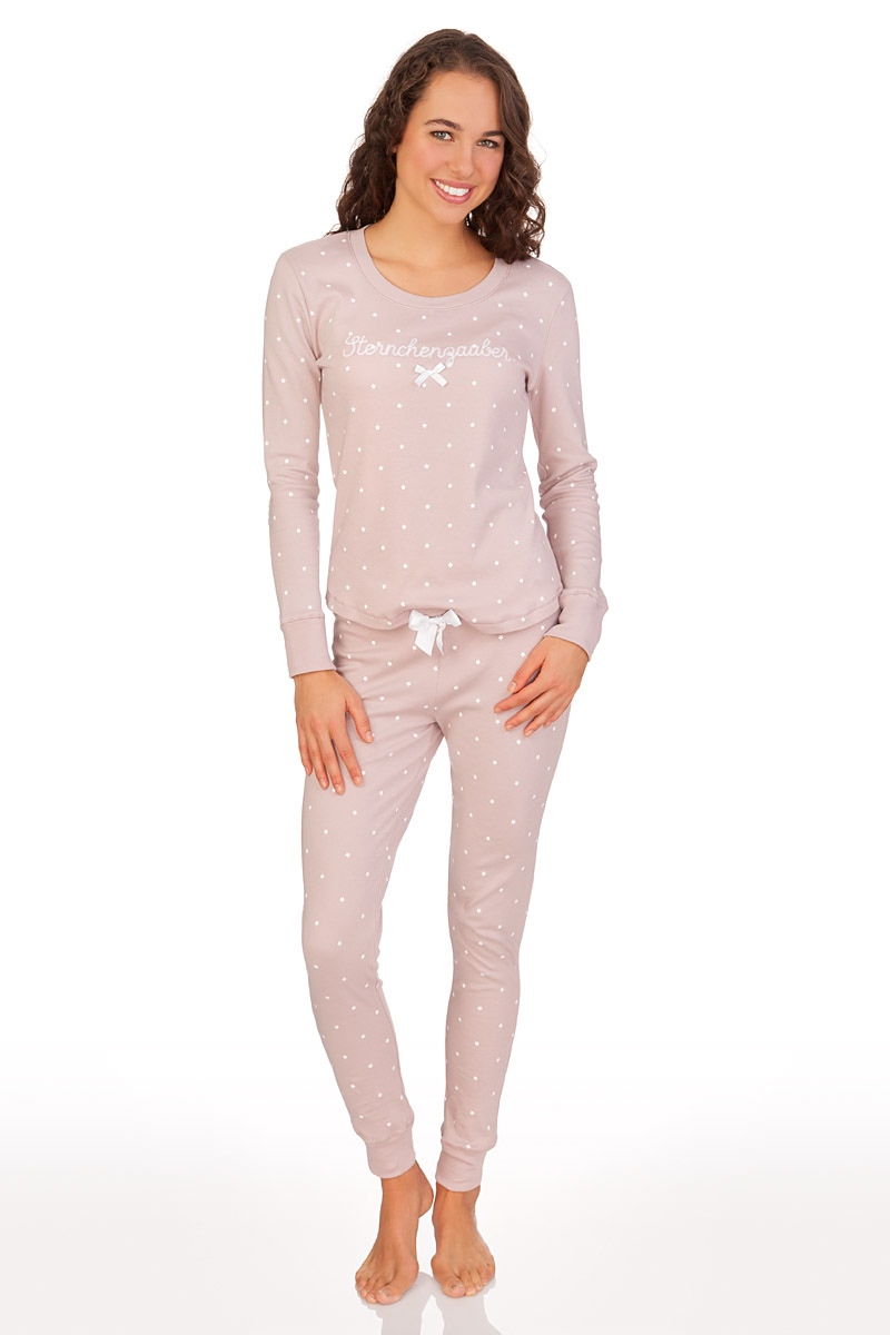 online store 1e157 6509b Pyjama Damen - STERNCHENZAUBER - mauve