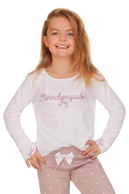 hohe Qualität große Auswahl an Farben und Designs besser Louis & Louisa Schlafanzug Kinder - STERNCHENZAUBER - weiß ...