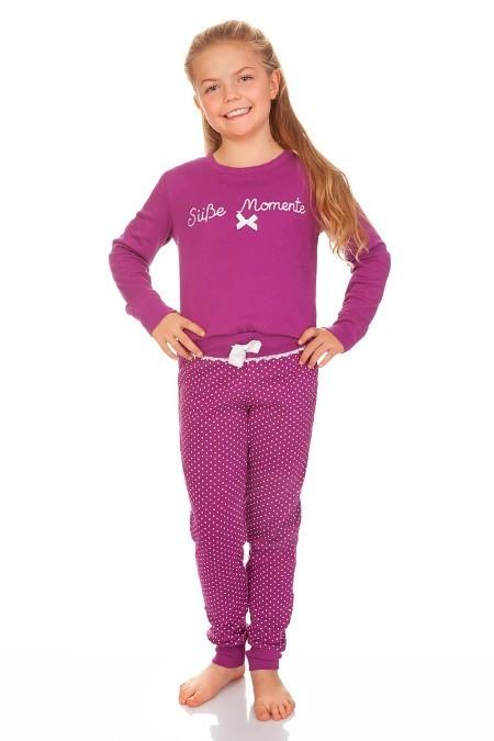 b7215224f7d37f Produktabbildung Louis & Louisa Trachten Kinder Pyjama - SÜßE MOMENTE -  beere