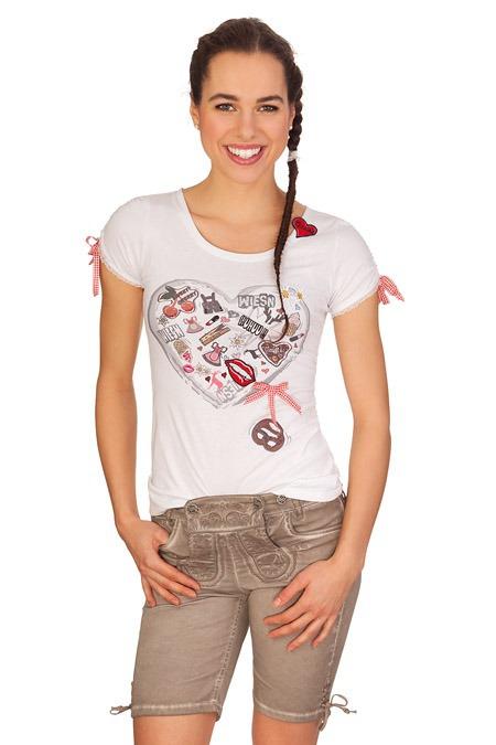 b97e335f92af Marjo Trachten Damen Jeanshose kurz - FRANZI - beige online kaufen ...