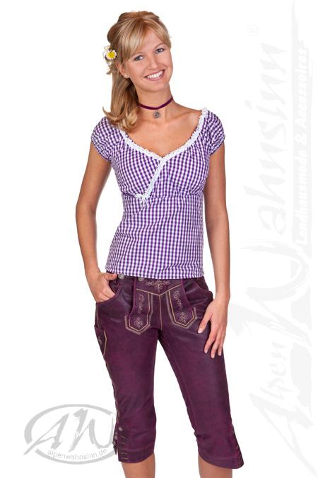 Produktabbildung Marjo Trachten Damen Kniebundlederhose - ANTONIA 740c1d619