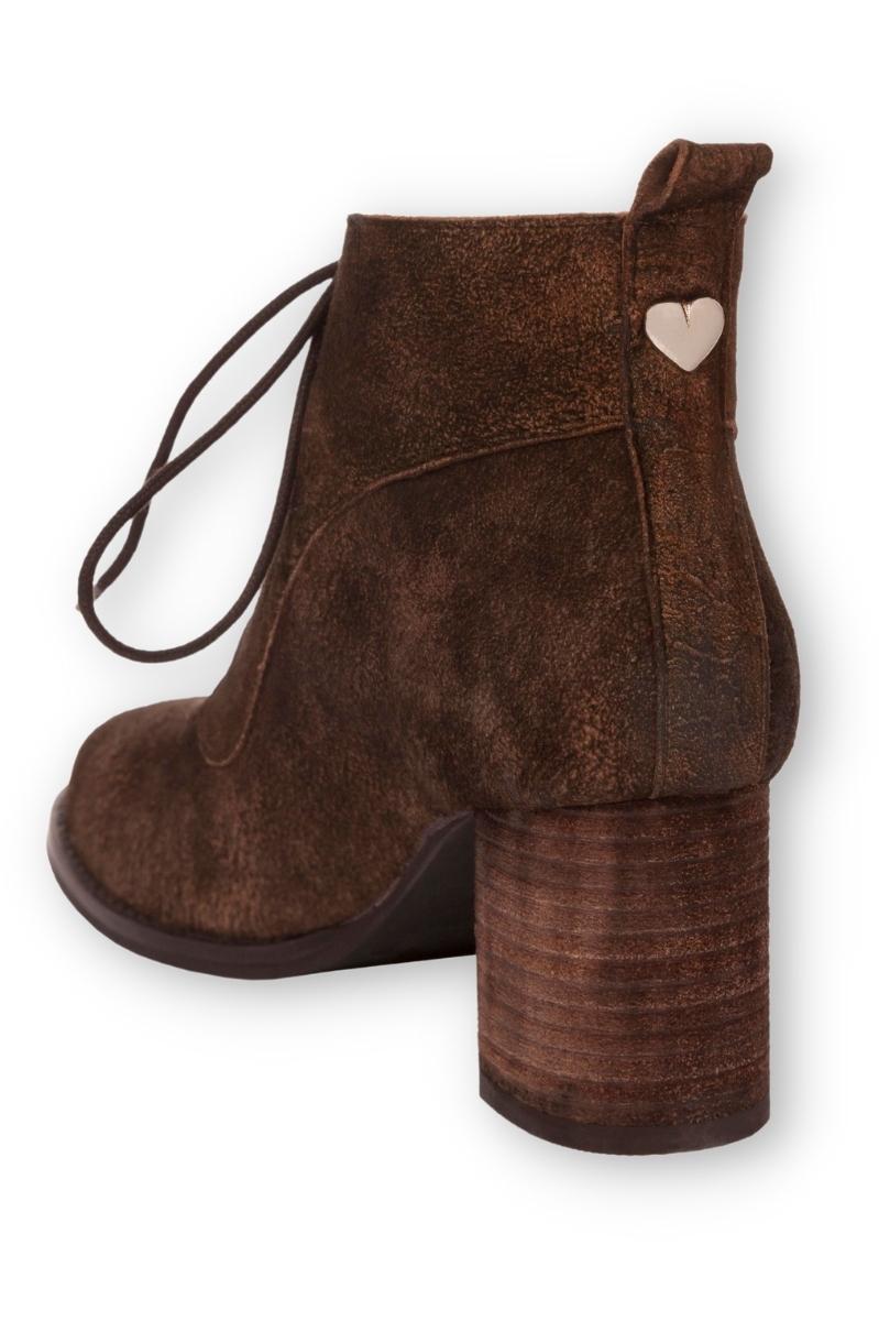 sports shoes 63207 667fa Trachten Stiefeletten Damen - GLINA - braun