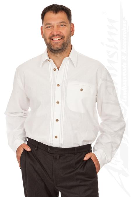 Orbis H106 weiß - Trachten Hemd für Anzug online kaufen, Trachtenhemd 9263e34108