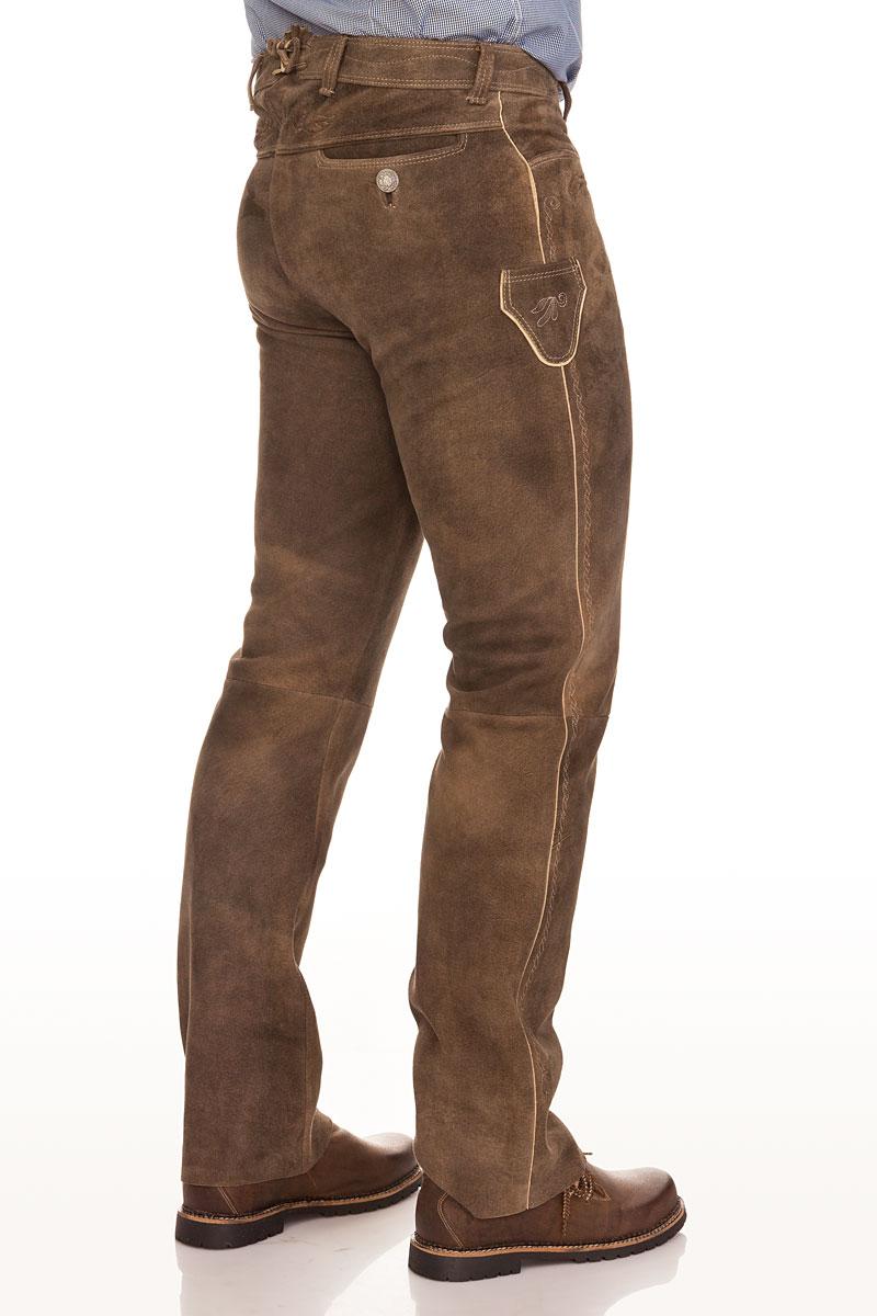 Preis günstigen preis genießen großer Rabatt Lange Trachten Lederhose - ALDO - rehbraun