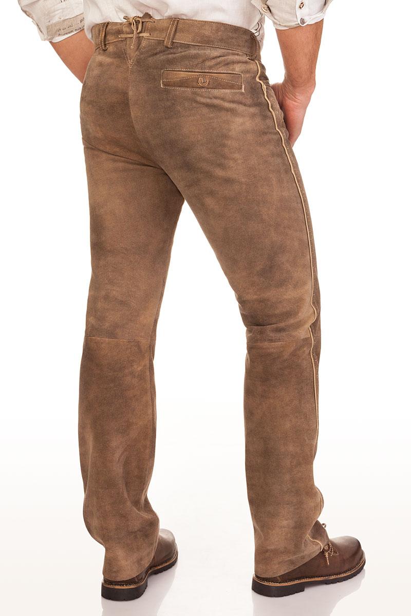 akzeptabler Preis neue Version frische Stile Lange Trachten Lederhose - BERTUS - schlamm