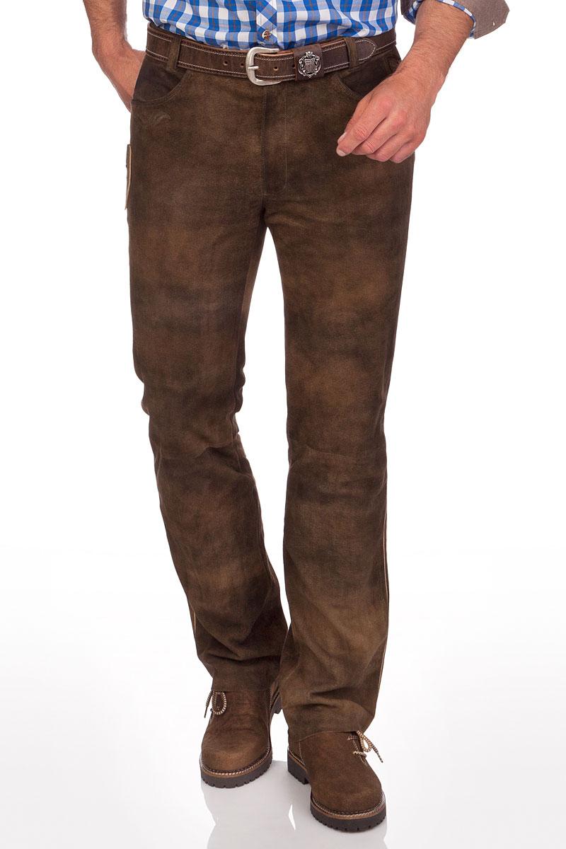 heiße neue Produkte klar in Sicht kosten charm Lange Trachten Lederhose - TRAUNREUT - schiefer