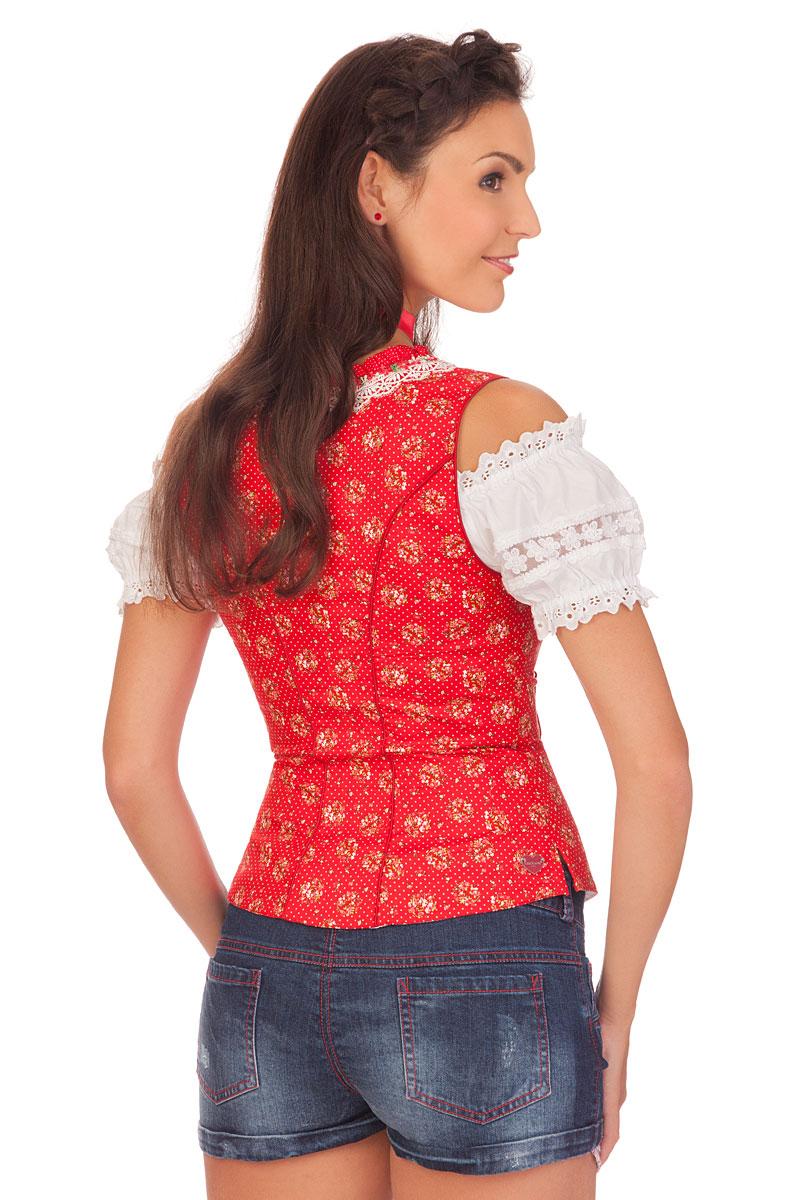 cf04c448ea72 weitere Produktabbildung Spieth   Wensky Trachten Damen Jeanshose kurz -  DÖRTE - blau