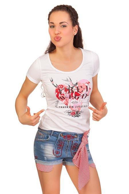 646f621146fe4 Hangowear Dirndl Trachten Damen Short Stoffhose kurz Jeans ...
