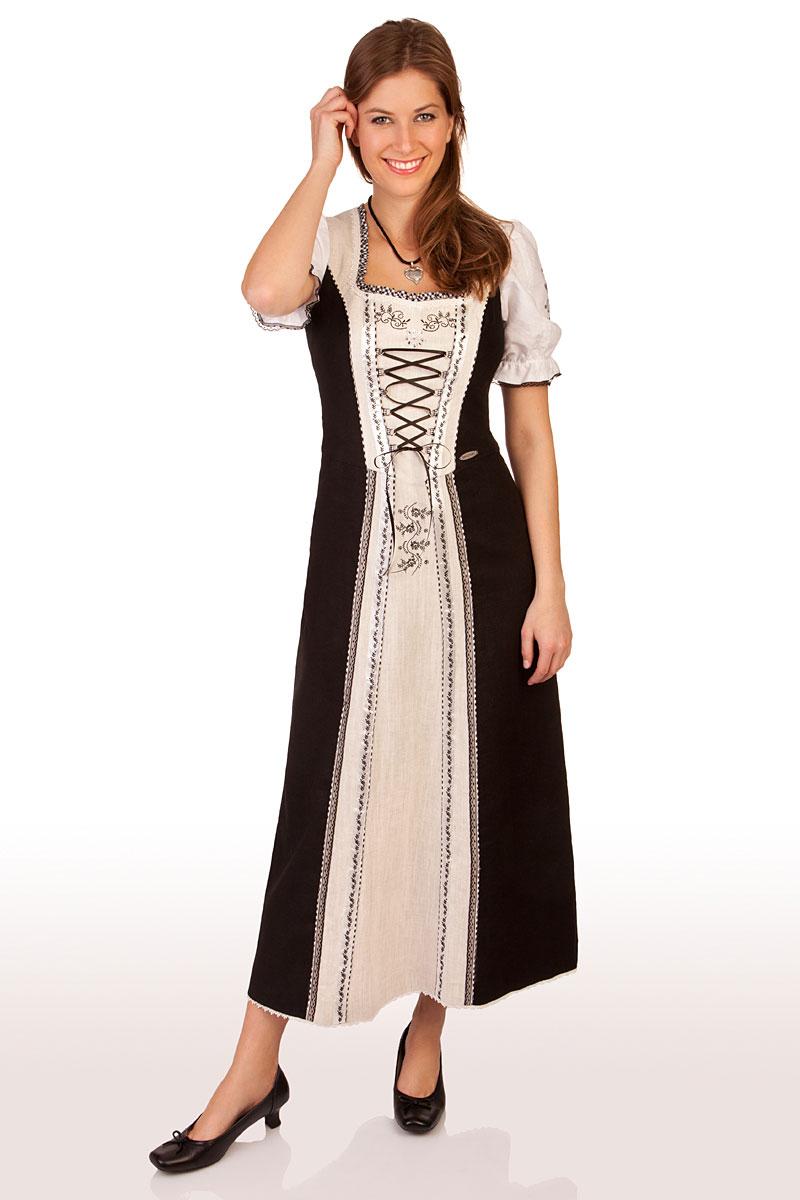 Kleid Im Landhausstil spieth wensky trachten landhauskleid moldau schwarz kaufen