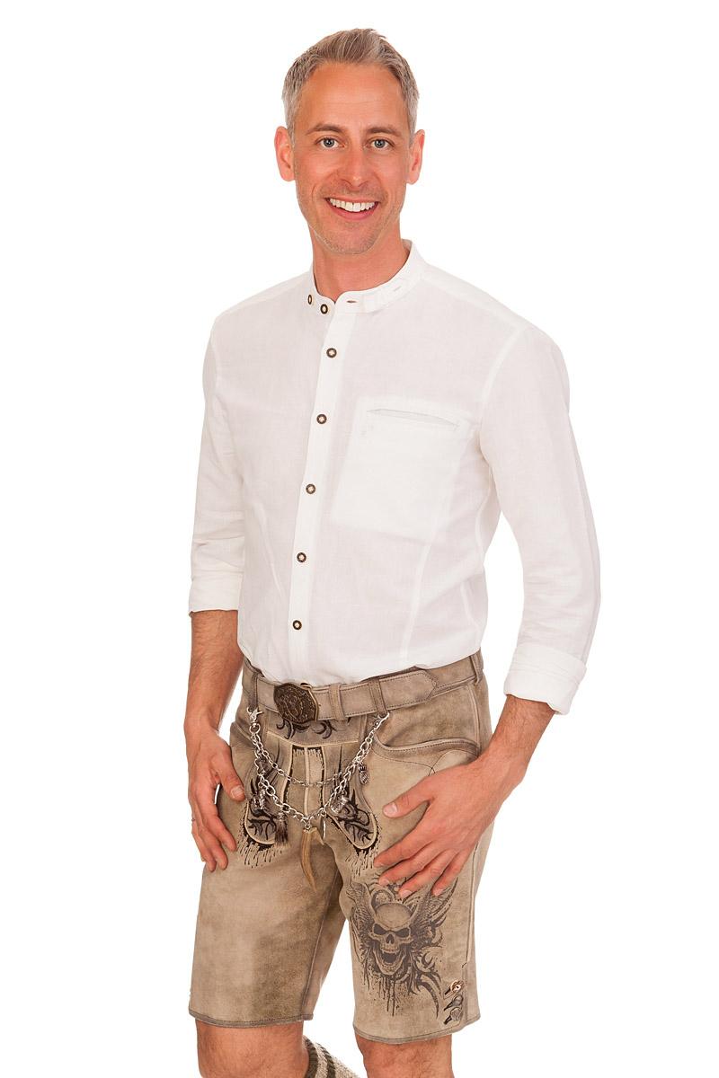 Trachtenhemd GARWIN weiß