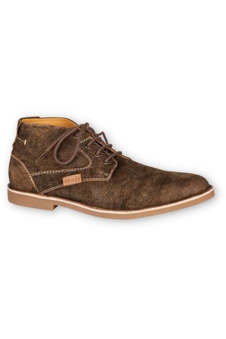 d4a29c3f0cadf2 Marjo Trachten Herren Schuhe Sneaker Chuck braun Wildleder Leder ...
