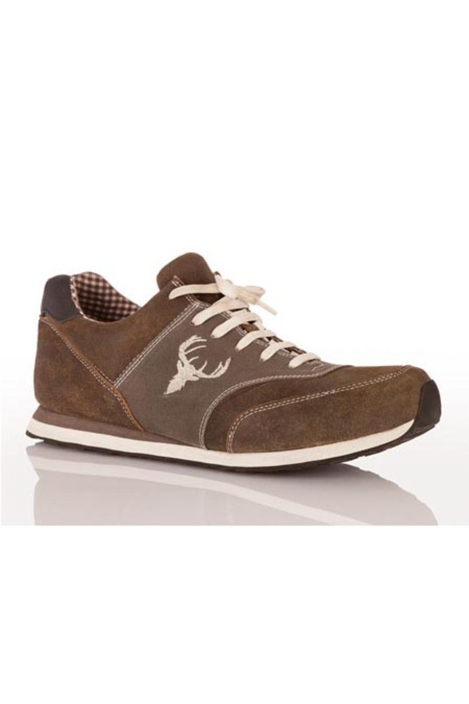 MADDOX HERREN TRACHTEN Schuhe Sneaker Siegfried Braun Leder Oktoberfest Gr 40 50