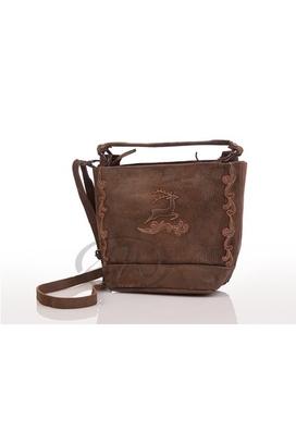 Trachten Handtasche - BRUCK - maigrün, cyclam, bordeaux Spieth & Wensky
