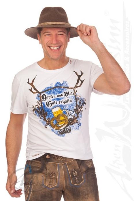 fcf49f35a9b908 Hangowear Trachten Herren Shirt - UWE AUSTRIA - anthrazit online ...