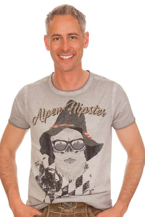 c8d93376f3d865 Hangowear Trachten Herren Shirt - BEPPI AUSTRIA - grau online kaufen ...