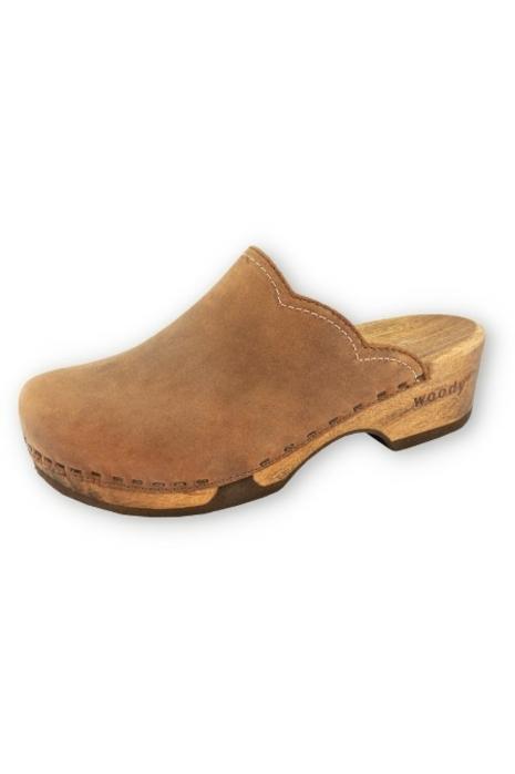 Clogs Damen Manu Fell braun | Woody | Sensationeller Schuh!