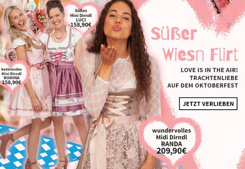 new style b9b80 32b57 Alpenwahnsinn | Trachtenmode & Landhausmode Marken-Shop
