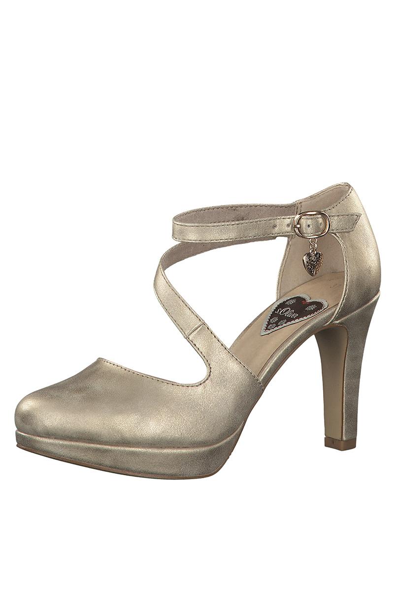Spitzenstil modische Muster heißer Verkauf online Trachtenpumps - PALINA - gold metallic, silber metallic
